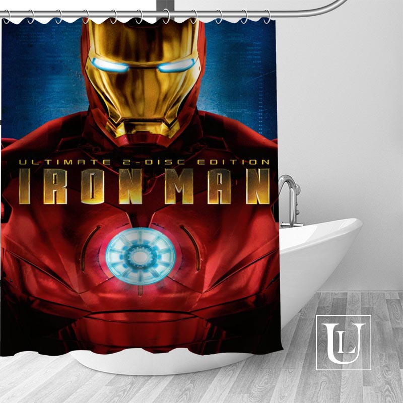 Aliexpress.com : Buy Hot Custom Avengers Iron Man Shower ...