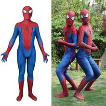 The Amazing Spider-Man Peter Benjamin Parker Spiderman Cosplay Costume Zentai Superhero Bodysuit Suit Jumpsuits amazing spider man peter parker