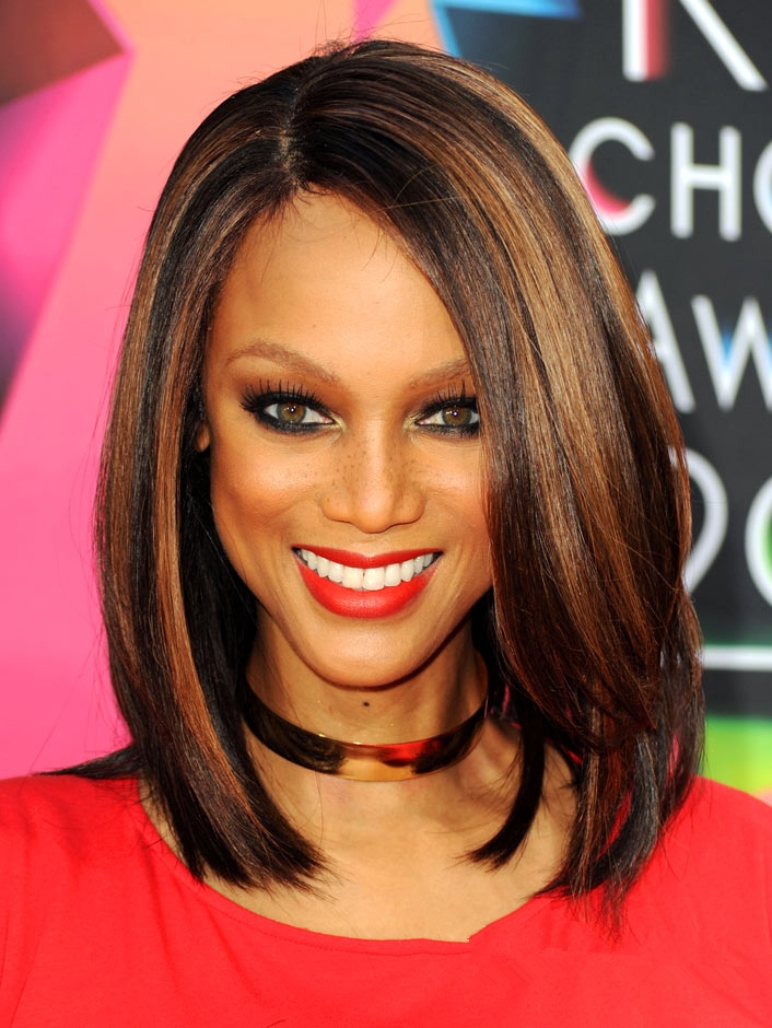 Peachy Black Brown Highlights Promotion Shop For Promotional Black Brown Short Hairstyles Gunalazisus