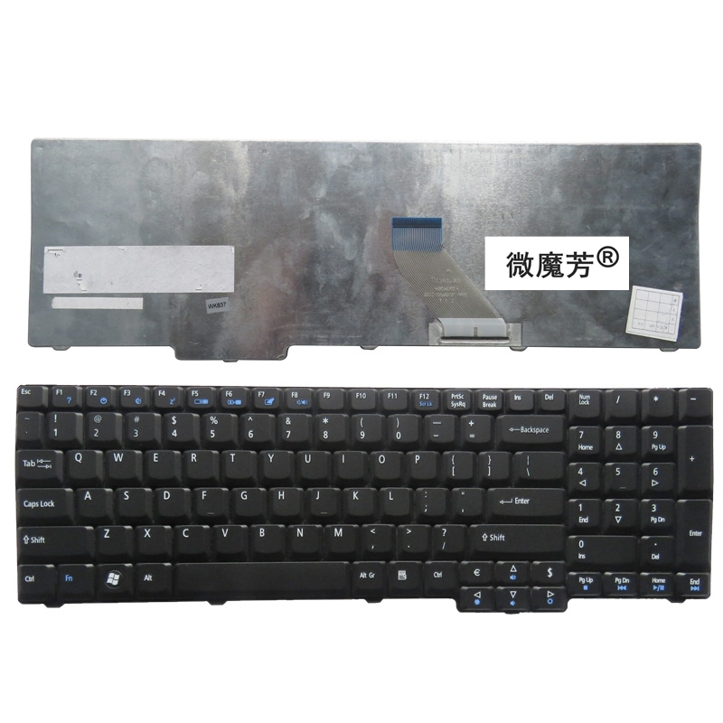 NEW FOR ACER For Extensa 5235 5635 5635G 5635Z 7320 7330 7220 7220Z 7230 7230E 7620 7620G 7620Z US Laptop Keyboard