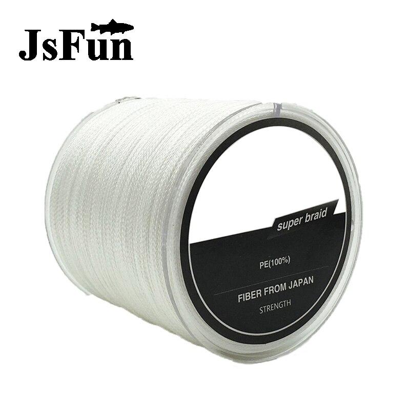 JSFUN 1000m Multifilament fishing <font><b>line</b></font> 4 Strands Leashes for fishing Braided Cord Olta misina 10LB 30LB 60LB 80LB 100LB FL112