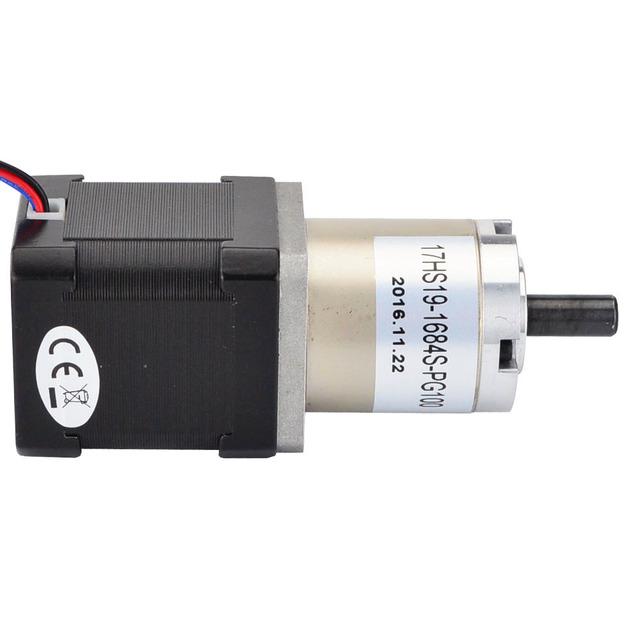 100:1 Planetary Gearbox High Torque Nema 17 Gear Stepper Motor 1.68A for DIY CNC Router Robot 3D Printer