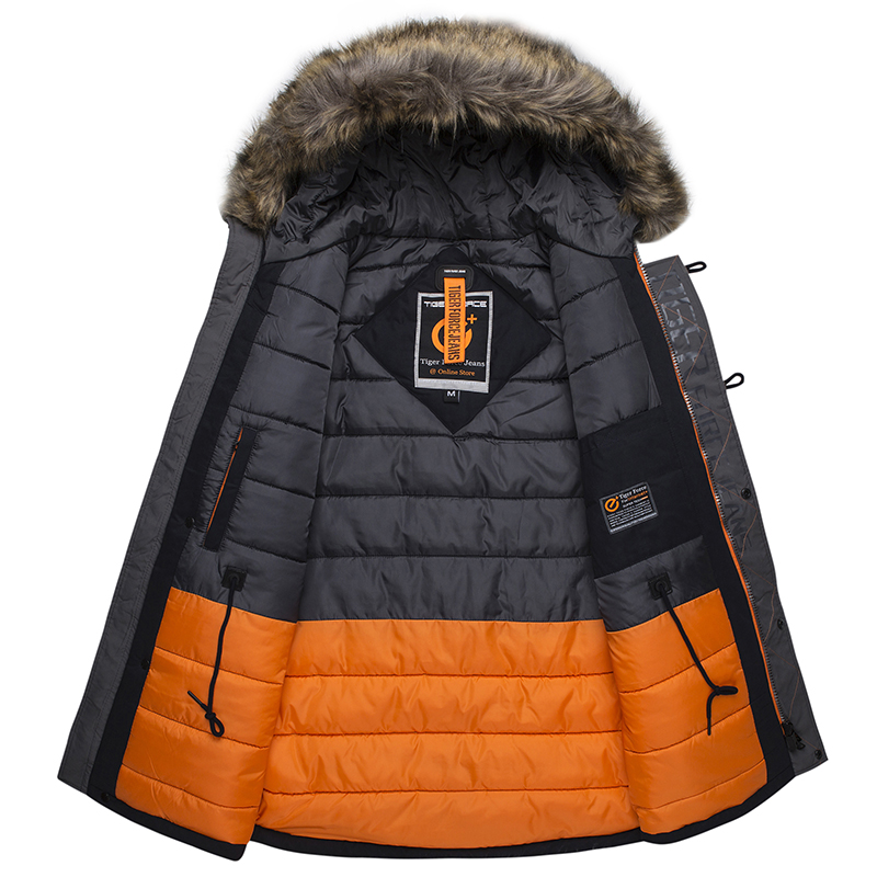 Mens Fur Snow Jacket 1