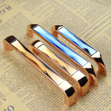 3.75'' 5.0'' Glass Dresser Pulls Drawer Handles Pulls Knobs Chrome Amber Blue Gold Crystal Kitchen Cabinet Door Handle Pull