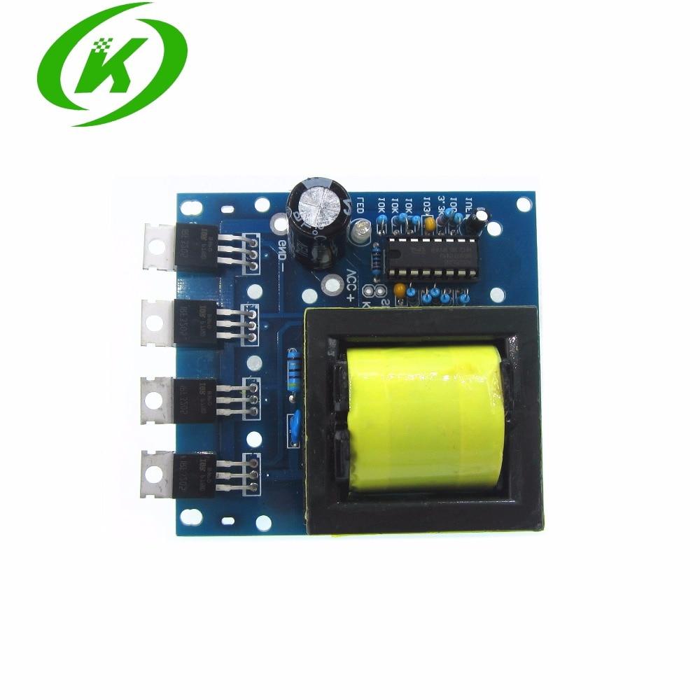 500W DC 12V//24V To AC 18V 0-220V-380V Inverter Converter Boost Module Board