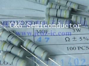 20 PCS 3 W Watt 10 K ohm de Filme de Carbono Resistor 3 W 5% ROHS 10 K