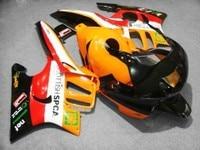 Fairing For Orange red black CBR 600 F3 95 96 1995 1996 CBR600F3 CBR 600F3 95 96 CBR600 F3 FS Bodywork Nn