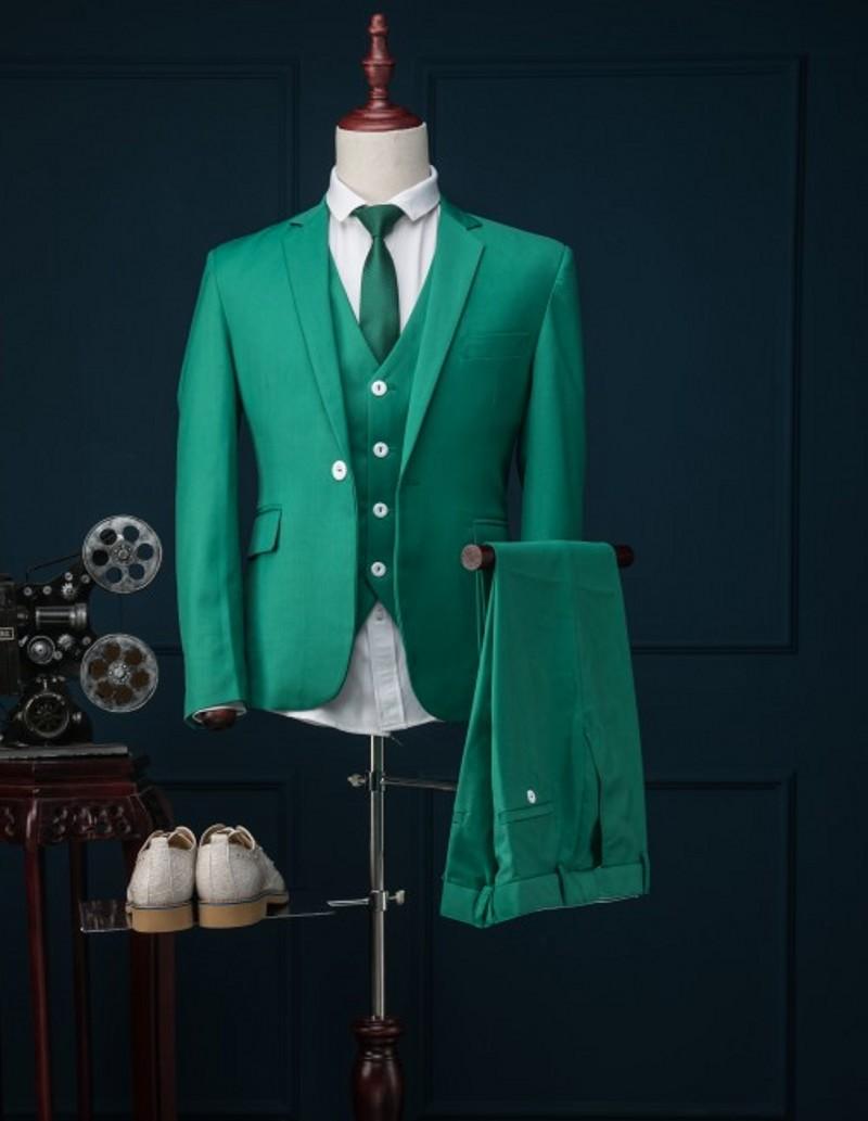 Один Кнопка Наречений Смокінг 13 - Чоловічий одяг