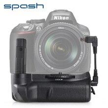 Spash Вертикальная Батарейная ручка для Nikon D5300 D5200 D5100 DSLR камеры мульти-мощность Батарея держатель работает с EN-EL14