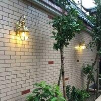 Waterproof Outdoor Lighting Modern Wall Lamp Balcony Wall Light Exterior Wall lamps porch exterior sconce lantern light garden
