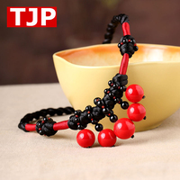 Autumn Necklace short exaggerated female ornament clothes accessories red neck chain Harajuku chain free shipping