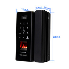 OBO HANDS Biometric Fingerprint door lock smart digital electronic door lock Fingerprint Verification With Password & RFID Unlok