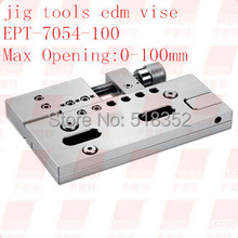 EPT-7054 Precision EDM Vises Triaxial Adjustable open:0-100mm SUS440 Stainless Steel Vice Jig Tools for EDM Wire Cutting Machine