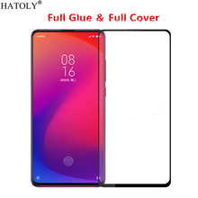 For Xiaomi Mi 9T Glass Tempered for Film Full Glued Cover Phone Screen Protector