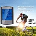 Велосипедный компьютер беспроводной Велосипедный компьютер спидометр цифровой одометр секундомер термометр ЖК-подсветка непромокаемый ч...