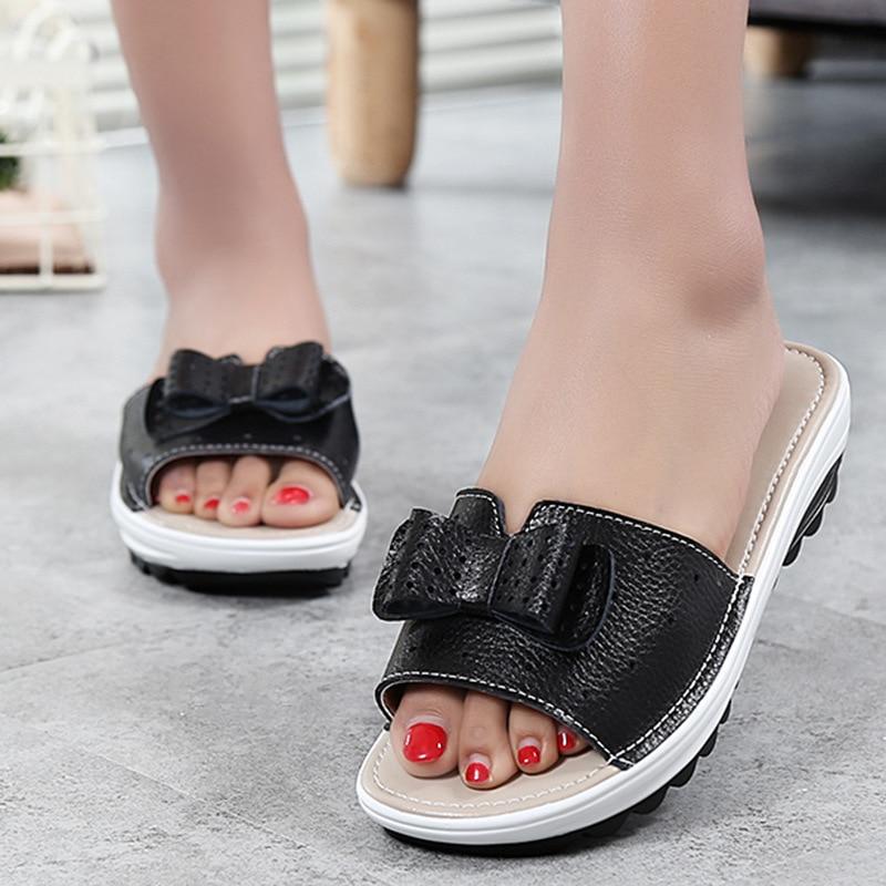 Herzhaft 3447g Runde Frühling Sommer Sandalen Dicken Boden Muffin Mit Frauen Schuhe Hersteller Direkt Verkäufe Frauen Schuhe