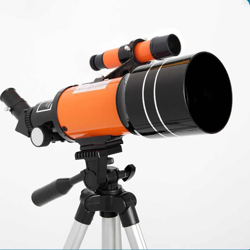 تلسكوب فلكي احترافي عالي الدقة للرؤية الليلية الفضاء العميق رؤية النجوم رؤية القمر 1000 تلسكوب أحادي العين