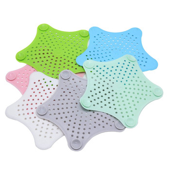 1 Pcs Bath Sink Strainer Drain Hair Catcher Bath Stopper Plug Sink Strainer Filter Shower Sink Strainer Plug Kitchen Accessories
