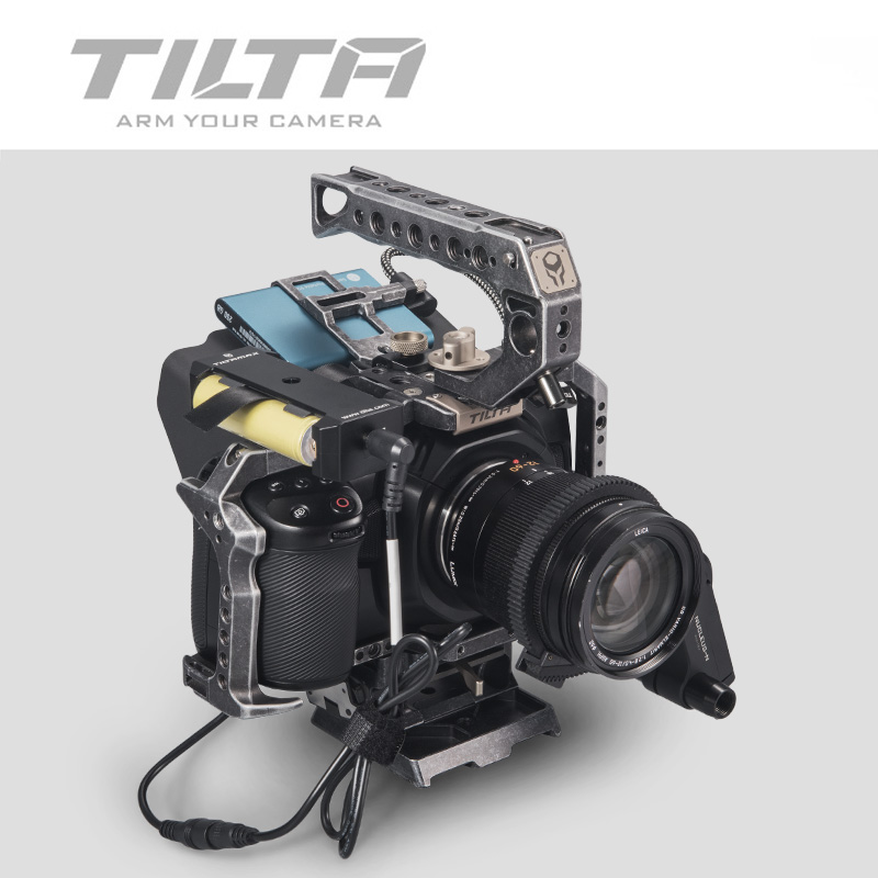 Tilta WLC-T04-BP-18650 Battery Pack Power supply plate holde for 18650 battery for Nucleus-M Nucleus-Nano BMPCC 4K CAGE