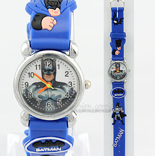 Online Shop Free Shipping Promotion Batman 3D Cartoon Watch Toy ...