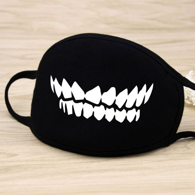 Cotton Mouth Face Mask Unisex Korean Style  BlackCarton Cycling Anti-Dust Cotton Mouth Mask Face Respirator 1