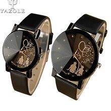 цены Famous Brand Lovers Cartoon Watch Women Lady Girl Men 2017 Female Clock Quartz-watch Cartoon-Watch Montre Femme Relogio Feminino