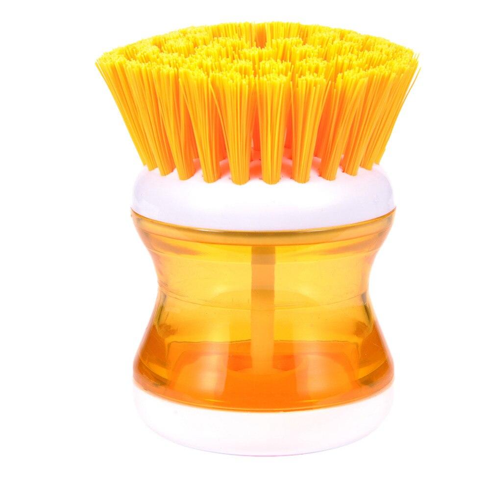 Caliente la Venta de 1 Unidades de Cocina de Plástico Cepillo De Limpieza Con De