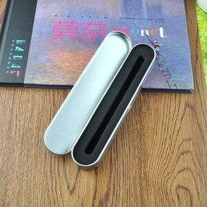 Image 2 - 100 pcs/lot Luxus stift fall für kristall stift geschenk box für bleistift kann für werbe kristall stift geschenk fall stift box