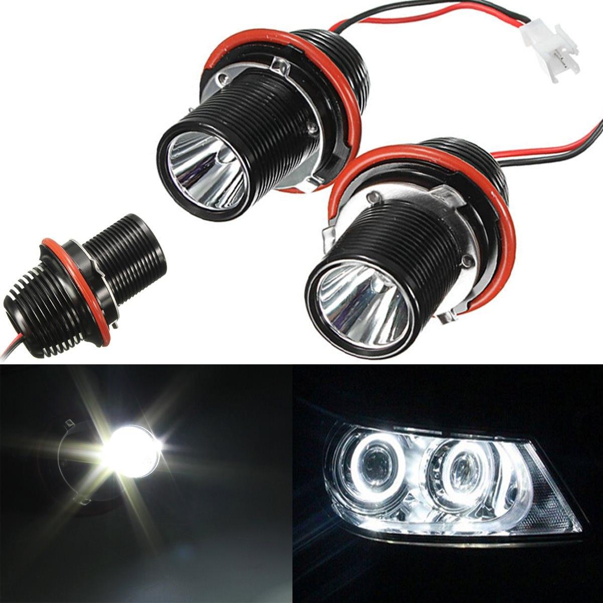 Подробнее о Audew 2PCS 10W LED MARKER ANGEL EYE HALO RING LIGHT BULB FOR BMW E39 E53 E60 E63 E64 E66 E83 7w e39 led marker led angel eye bulb for bmw e39 e53 e60 e63 e64 e65 e66 e67 led headlight halo ring bulb led angel eyes