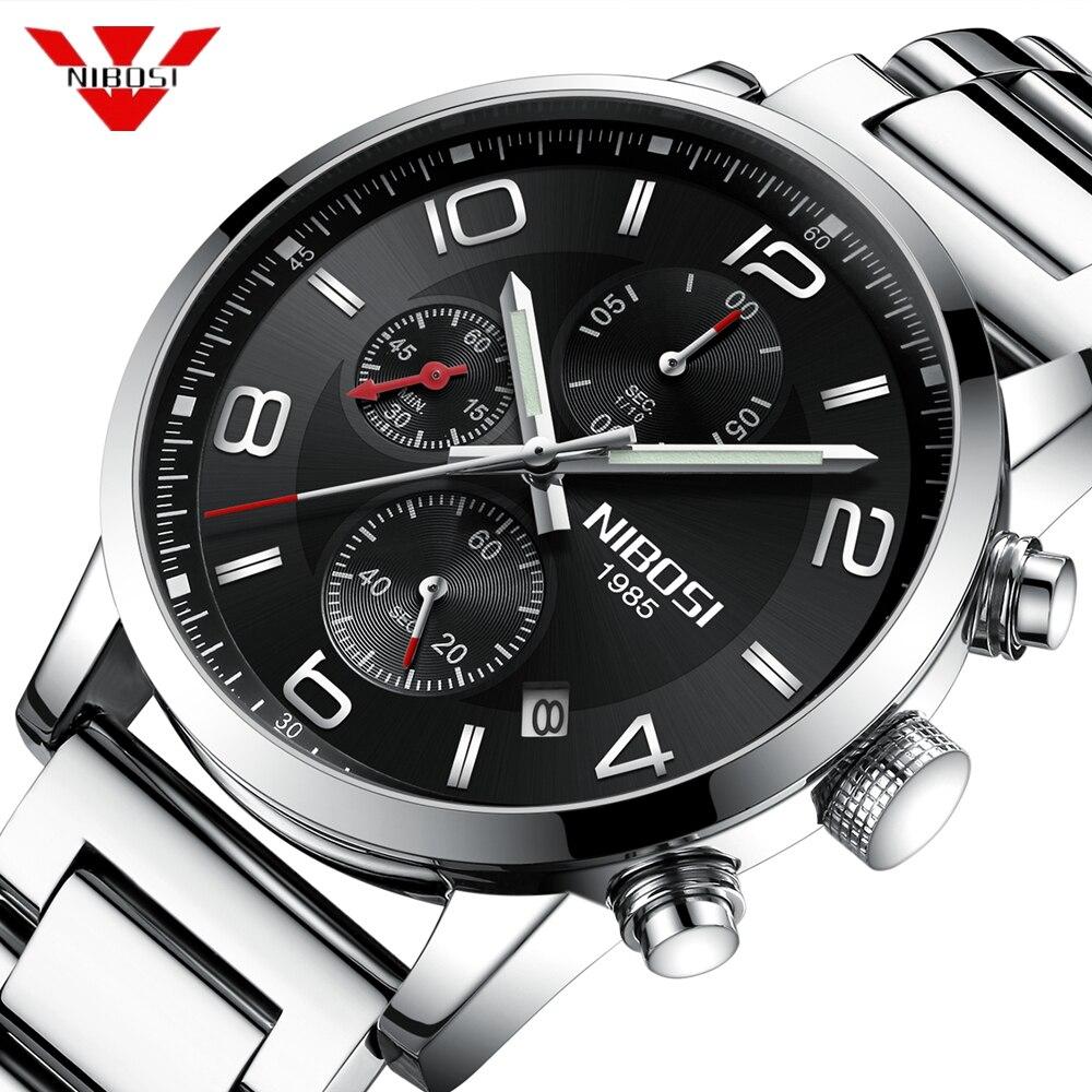 1046b6ae22b NIBOSI 2019 Novo Tipo de Relógio De Luxo De Quartzo Relógio de Pulso de  Moda Relógio