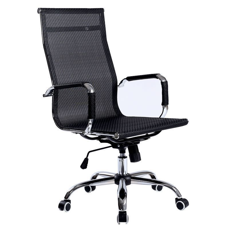 WB#3463 Post office computer staff conference swivel mesh chair lifting seat bow special offer high quality mesh cloth office chair breathable soft cushion computer chair multifunctional adjustable headrest staff chair