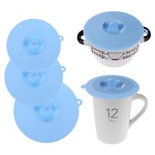 HJ Silicone Cup Lid Reusable Anti-dust Leakproof Insulation Bowl Cup Cover