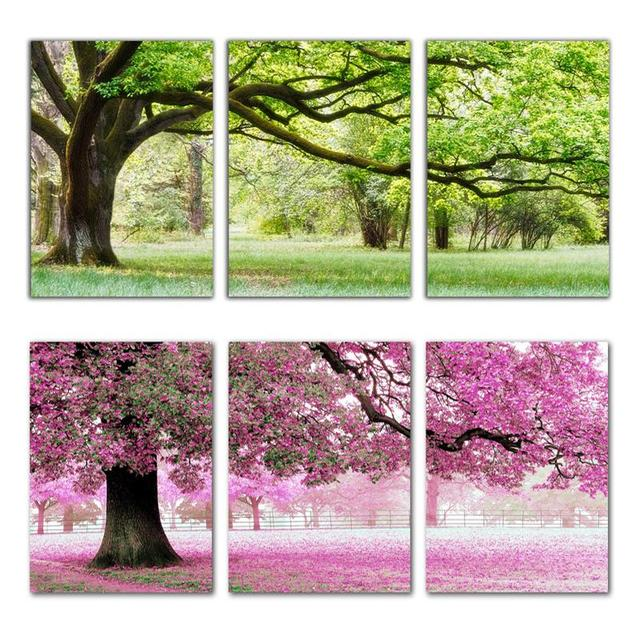 Needlework,DIY DMC Cross stitch,Sets For Embroidery kits,Precise Printed romantic trees factory sale Counted Cross-Stitching