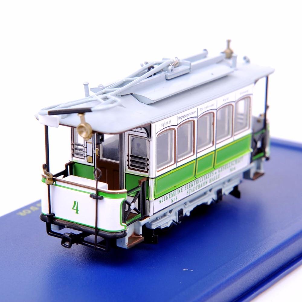 1 87 Scale Diecast Bus Car Model Toys New Tram LE CRABE font b AUX b