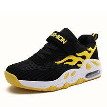 2019 New Kids Shoes for Boys Fashion Breathable Sport Running Sneakers Boys School Shoes Spring Children Shoes Size 29-39 B55 цена