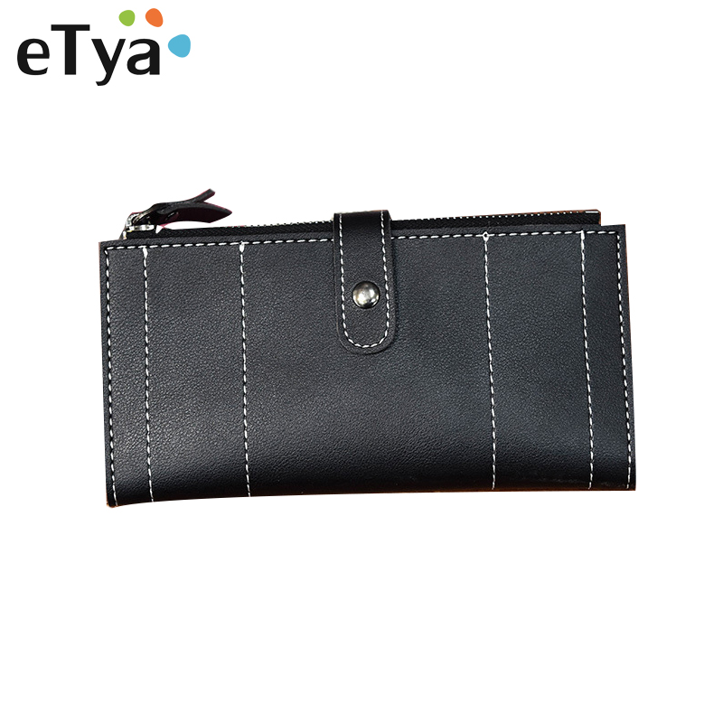 Women New Style Zipper Wallets PU Leather Ladies Purses Lady Coin Pocket Pink Long Wallet Female Clutch Bag For Women Gift 2017 new ladies purses in europe and america long wallet female cards holders cartoon cat pu wallet coin purses girl