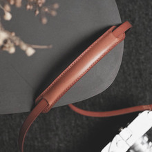 Ремень для камеры из натуральной кожи Mr.stone, ручной работы, из яловой кожи, растительного дубления