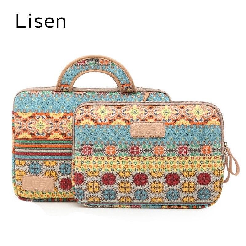 2018 Hot Lisen Brand Bag For Laptop 13,14,15,15.6 inch,Handbag Case For MacBook Air/Pro 13.3, Sleeve Case,Drop Free Shipping