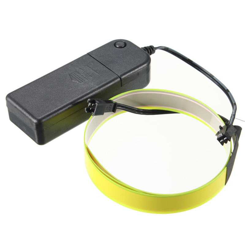 Electroluminescent Tape Aa Battery Power Colorful Flexible