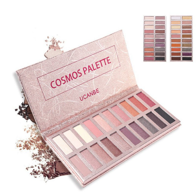 UCANBE Hot 20 color Eye shadow Makeup Palette Shimmer Matte Radiant Pigmented Cosmetic Eye Shadow Powder Natural Sexy Eye Plate ucanbe brand eyeshadow makeup palette shimmer matte radiant pigmented cosmetic eye shadow powder natural sexy eye plate