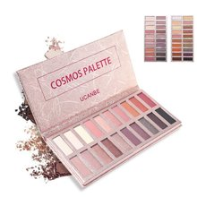 UCANBE Hot 20 color Eye shadow Makeup Palette Shimmer Matte Radiant Pigmented Cosmetic Eye Shadow Powder Natural Sexy Eye Plate ucanbe brand 20 colors eyeshadow makeup palette shimmer matte radiant pigmented cosmetic eye shadow powder natural sexy eye set