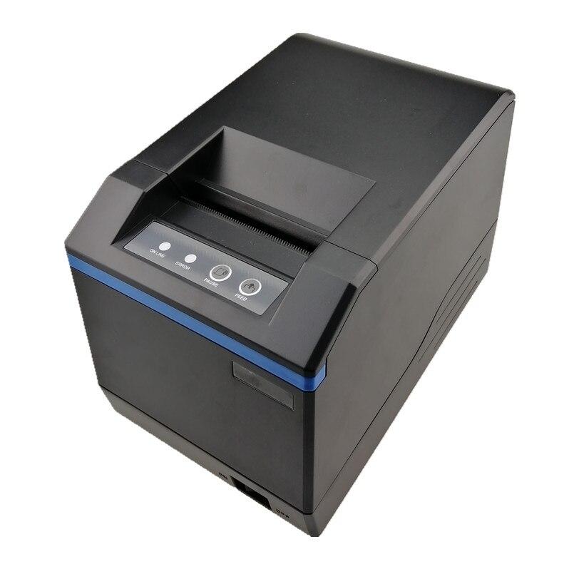 Imprimante à code-barres étiquette thermique reçu ou étiquette autocollant imprimante USB ou Bluetooth imprimante 20mm à 80mm imprimantes à code-barres thermiques