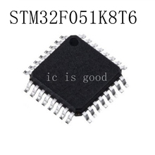 NEW 10PCS/LOT STM32F051K8T6 STM32F 051K8T6 STM32F051K8 QFP-32 IC