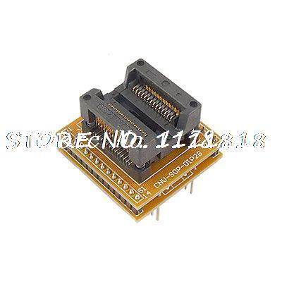Double Row 28 Pin DIP to SOP Socket Programming Adapter 100pcs lm2901 lm2901dr sop 14