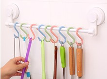4pcs/lot S Shape Hook for Desk Bags Wall Hanger Bathroom Kitchen Organizador Storage Rack  JE 0649