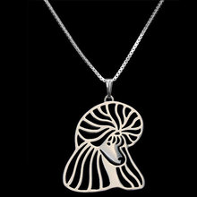 Poodle Dog Pendant Silver Plated Necklace Women New Design Jewelry For Pet Lovers Wholesale New