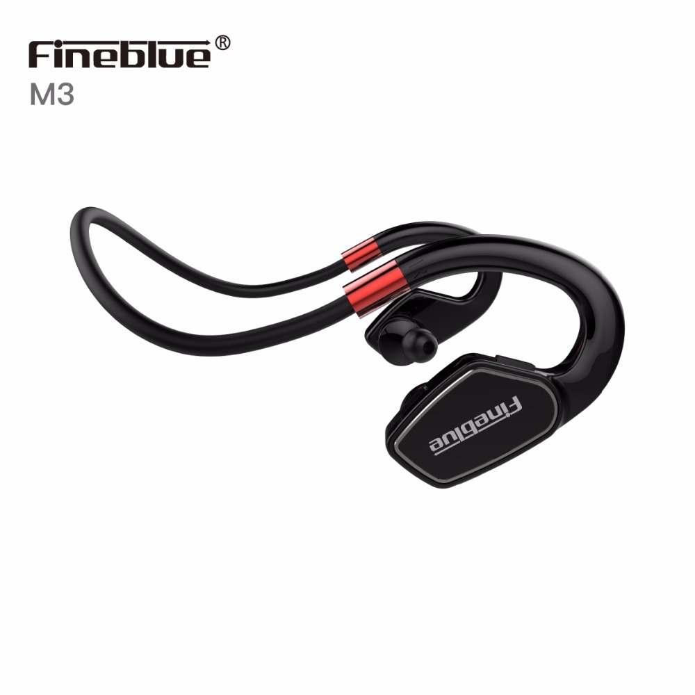 Fineblue M3 <font><b>Sport</b></font> <font><b>Sweat</b></font> proof <font><b>Wireless</b></font> <font><b>Bluetooth</b></font> <font><b>Headset</b></font> Hände frei Kopfhörer Lauf Gym Stereo Kopfhörer Weihnachten Geschenk image