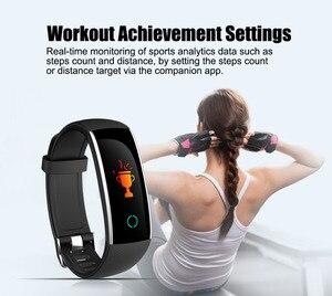 Image 2 - Nuova Smart Wristband Del Braccialetto con il Cuore Tasso di Pressione Sanguigna Pedometro multifunzione banda intelligente per Android IOS Fitnesstracker
