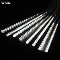 Holiday Lights 30cm 50CM Meteor Shower Rain Tubes Led Light Lamp 100 240V Christmas String Light