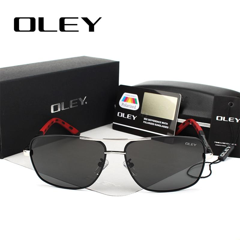 OLEY polariseeritud klaasidega päikeseprillid / päikseprillid meestele või naistele (Unisex) 2
